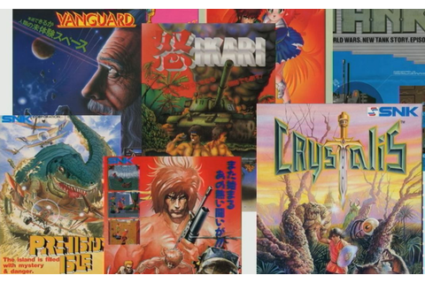 SNK 40th Anniversary Collection Announced: Crystalis ...