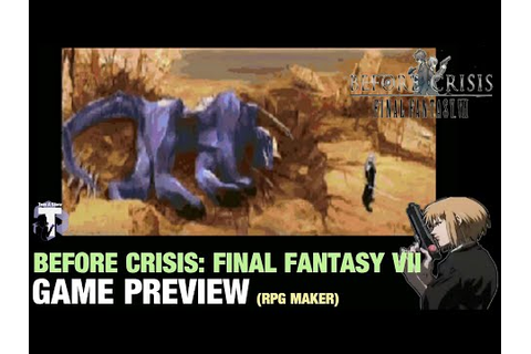 Let's Play Before Crisis: Final Fantasy VII, First Hour ...