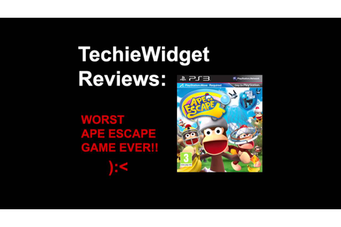 PlayStation Move Ape Escape Review - WORST APE ESCAPE GAME ...