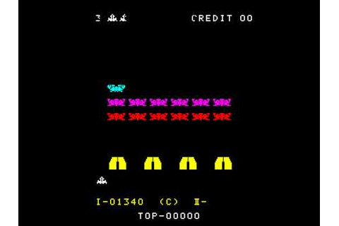 Arcade Game: Space Invaders Part II (1979 Taito) | Doovi