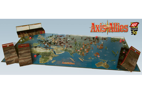 Axis & Allies 50th Anniversary Edition | Axis & Allies ...