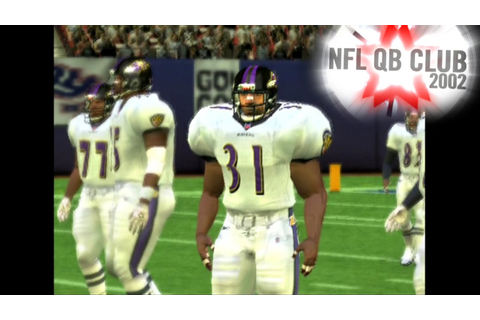 NFL QB Club 2002 ... (PS2) - YouTube