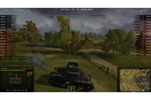 World of Tanks Gameplay (online pc game) HD - YouTube