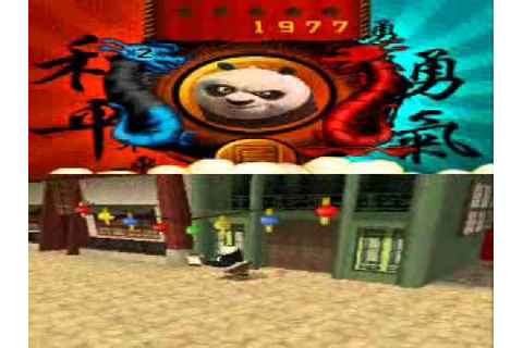 Kung Fu Panda Legendary Warriors DS Gameplay - YouTube