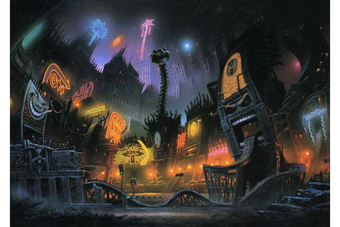 Cool World (1992) : BackgroundArt
