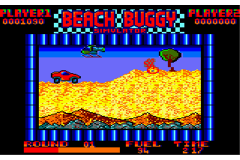 Download Beach Buggy Simulator (Amstrad CPC) - My Abandonware