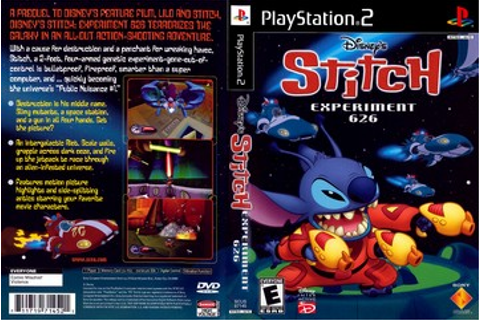 Disney's Stitch: Experiment 626 (PS2) - The Cover Project