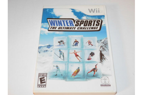 Winter Sports: The Ultimate Challenge - Nintendo Wii Game ...