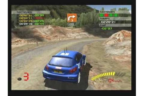 V Rally 3 Playstation 2 PS2 Gameplay ( Oldies ) - YouTube