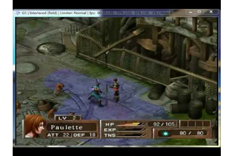 Arc the Lad: Twilight of the Spirits on PCSX2 0.9.7 ...