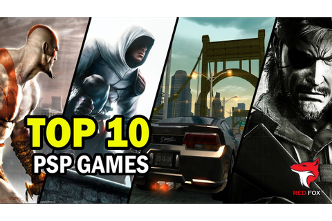 TOP 10 PSP GAMES of all time | 1080p HD - YouTube