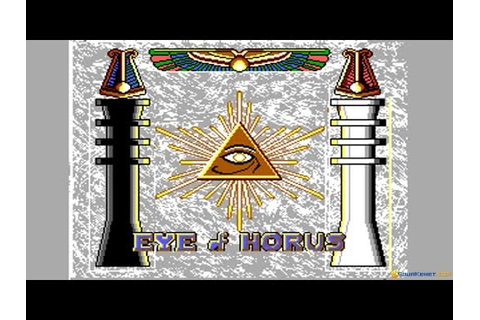 Eye of Horus gameplay (PC Game, 1989) - YouTube