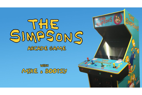 The Simpsons Arcade (Xbox Live Arcade) Mike & Bootsy - YouTube