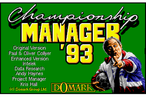 Championship Manager 93-94 | ClassicReload.com