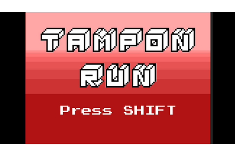 Let's Play Tampon Run - Indie Game - YouTube