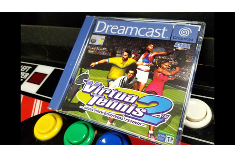 Classic Game Room - VIRTUA TENNIS 2 review for Sega ...