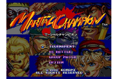 Martial Champion Details - LaunchBox Games Database