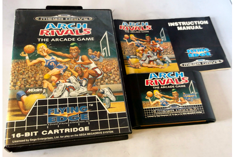 Retro Treasures: Arch Rivals - The Arcade Game (MegaDrive)