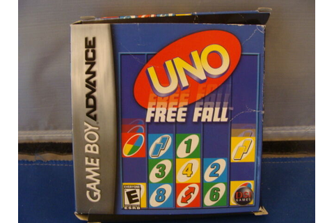 Uno Free Fall BOXED NINTENDO Game Boy Advance | eBay