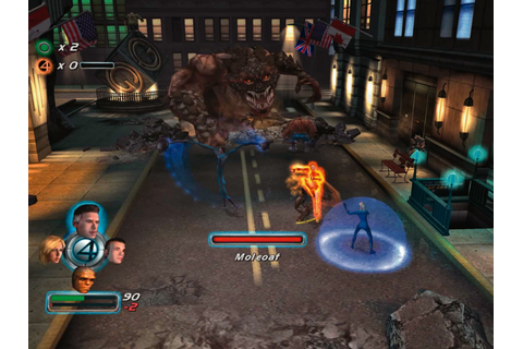 Fantastic Four (2005) PC Game Download ~ Planet PC