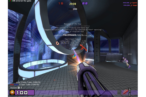 TuxArena Blog: First-Person Shooter Game for Linux: Warsow ...