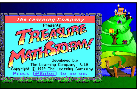 Treasure Mathstorm | ClassicReload.com