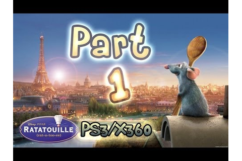 Ratatouille : The Movie - Game (PS3, Xbox 360) Walkthrough ...
