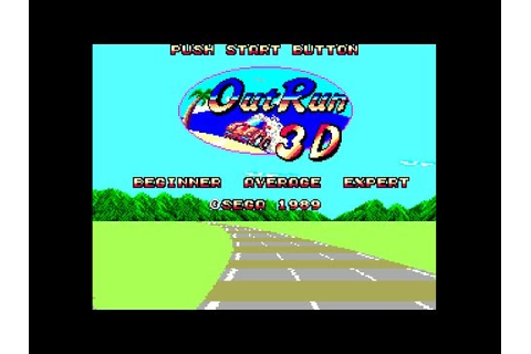 (Real 3D) Out Run 3-D - Master System Longplay (FM) (Sega ...