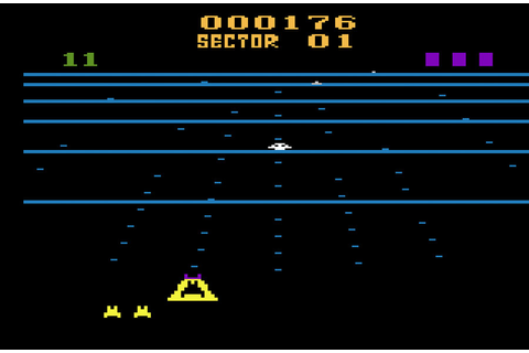 Game review: #Activision Beamrider for #Atari 2600, an ...