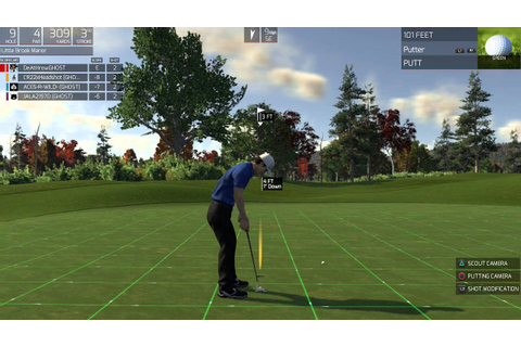 The Golf Club PlayStation 4 Gameplay - YouTube