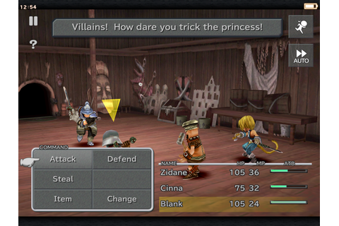 Final Fantasy IX - A mobile port of a classic JRPG that ...