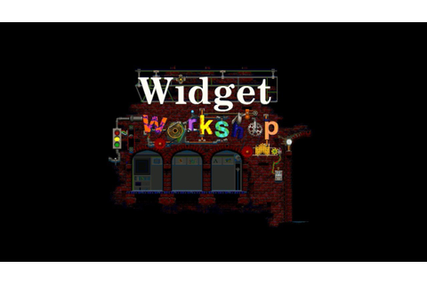 LGR - Widget Workshop - PC Game Review - YouTube