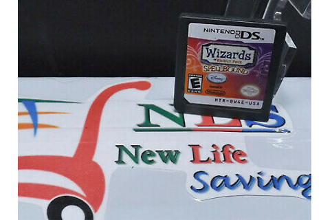 Wizards of Waverly Place Spellbound Nintendo DS Game ...