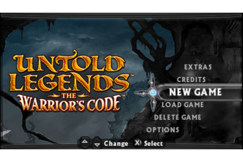 Untold Legends The Warriors Code PSP CSO Free Download ...