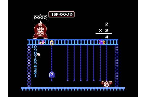 Donkey Kong Jr. Math Screenshots | GameFabrique