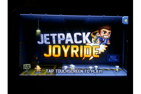 Handheld Game: Jetpack Joyride Review(iOS, Android, PS3 ...