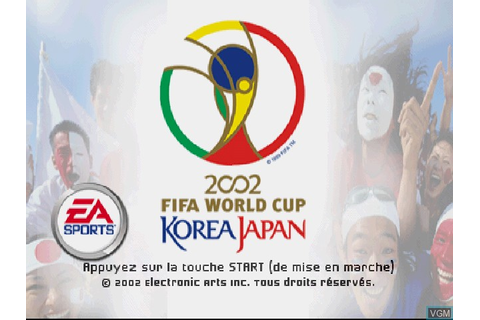 2002 FIFA World Cup Korea Japan for Sony Playstation - The ...
