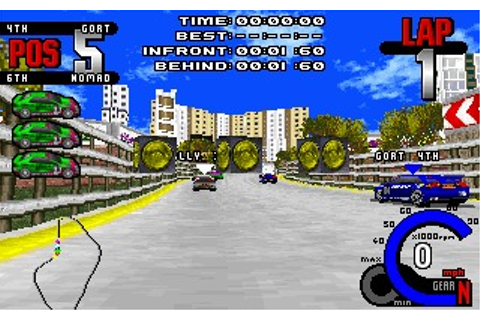 Fatal Racing (DOS) Game Download