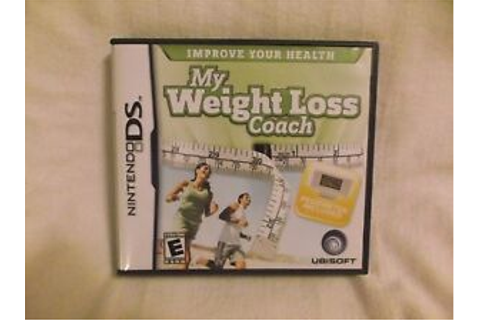 My Weight Loss Coach (Nintendo DS, 2008) Case, Game ...