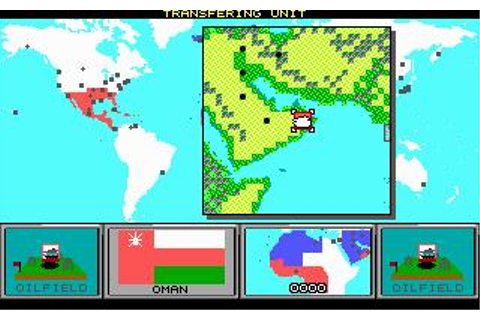 Command HQ Download (1990 Strategy Game)