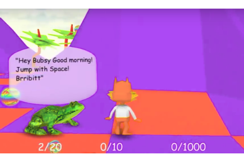 bubsy 3d: bubsy visits the james turrell retrospective ...