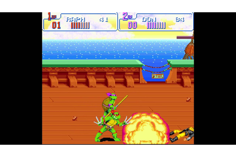Teenage Mutant Hero Turtles: Turtles in Time - Scene 6 ...