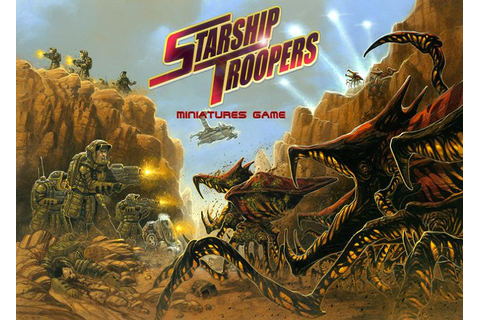 Starship Troopers: The Miniatures Game | Starship Troopers ...