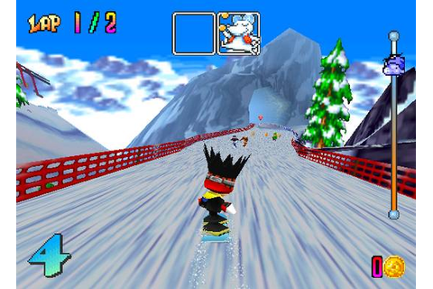 Nostalgia with Snowboard Kids (N64) aka If I Were a ...