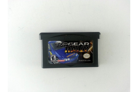 Top Gear Rally game for GameBoy Advance (Loose) | The Game Guy