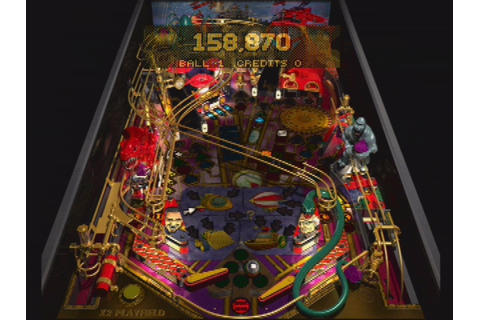 Pro Pinball: Fantastic Journey Screenshots for PlayStation ...