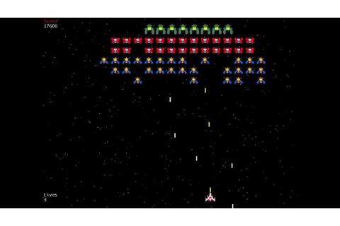 Galaxia / Galaga Game, written in C# Xna 4.0 - YouTube