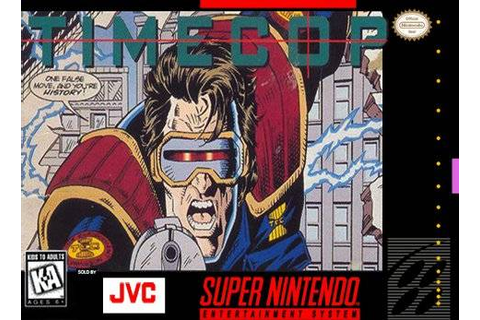 REVIEW: TIMECOP (SNES) | Comic Gamers Assemble