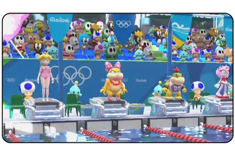 Mario and Sonic at the Rio 2016 Olympic Games (Wii U ...