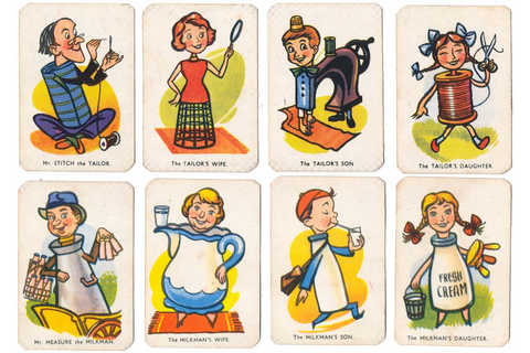 Happy Families No.5367 - The World of Playing Cards